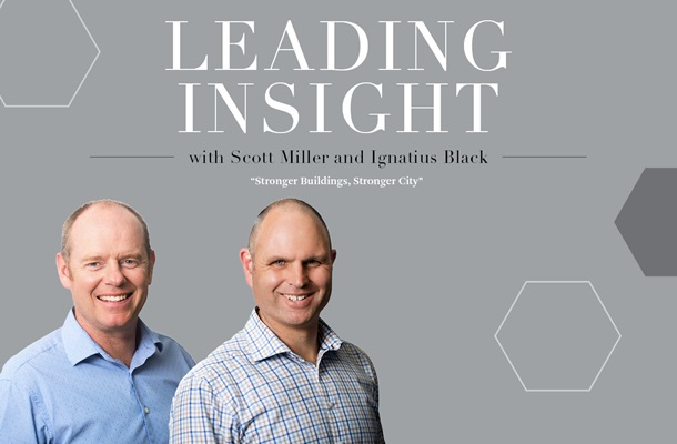 Scott Miller and Ignatius Black Leading Insight Workspace  Wellington CBRE